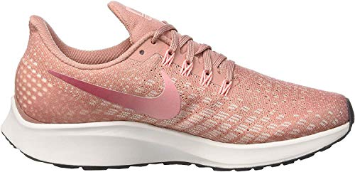 Nike Damen Air Zoom Pegasus 35 Laufschuhe, Pink Altrosa Weiß Altrosa Weiß, 40.5 EU