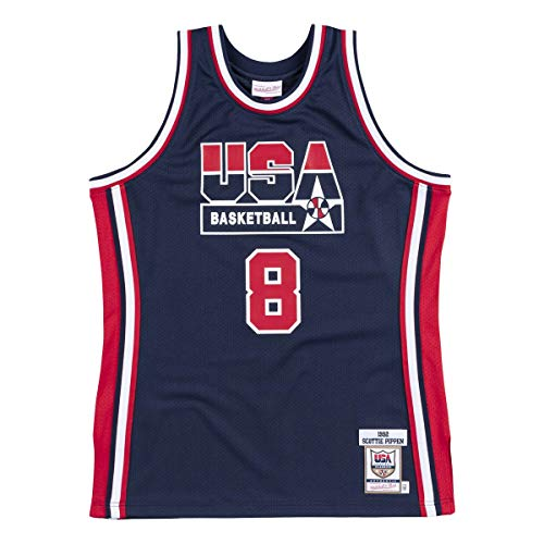 Mitchell & Ness Authentique Team USA NBA Scottie Pippen Trikot