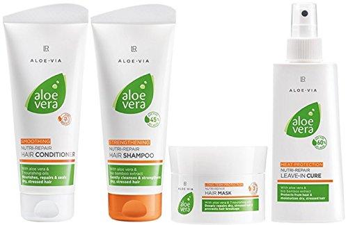 LR ALOE VIA Aloe Vera Nutri-Repair Set para el cuidado del cabello