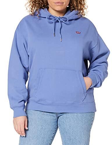 Levi's Standard Hoodie, Sudadera Mujer, Colony Blue, M