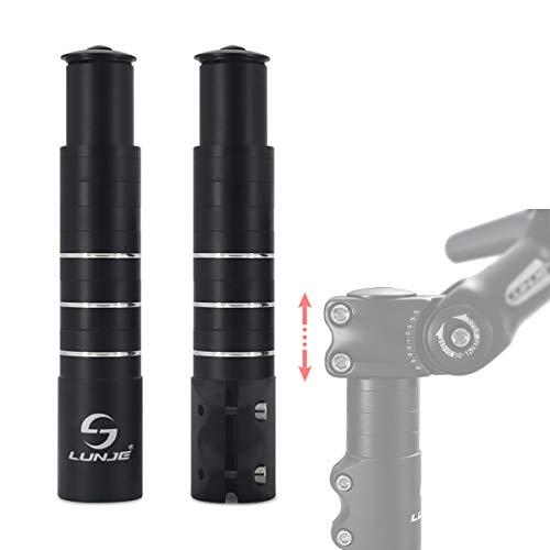 BinZanon Fahrrad Vorbau Höhenadapter, Fahrrad Lenkererhöhung, Gabelschaft Extender MTB Höhen-Adapter für Ahead-Vorbau1 1/8