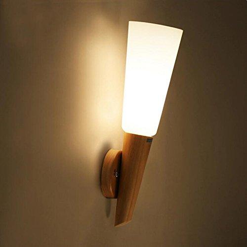 VanMe Mur De Verre Bougeoir Décoration Lampes Lumière Pour Double Salle De Séjour Salle De Bain Balcon Bar Allée Lumière Lampe Murale Éclairage D'Accueil