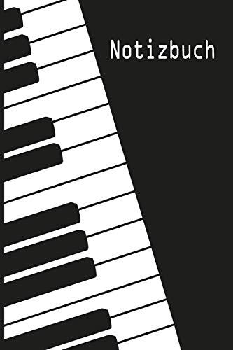 Notizbuch: Klavier Spieler Flügel Piano Pianist Klassische Musik Klassik Musiker Klavierspieler - liniert,120 Seiten, 15,24 x 22,86cm