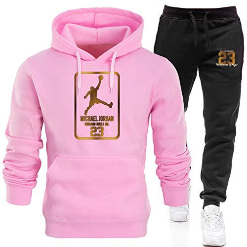 2021 Jordan 23# Mens Basketball Chándales Set, Jordan New Basketball Sudaderas Sudaderas Pantalones Sportswear, Casual Gym Sports Running Training Sudaderas y pantalones 14-L