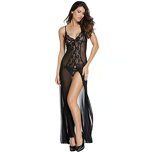 Cestbon Lace robe long negligee,...
