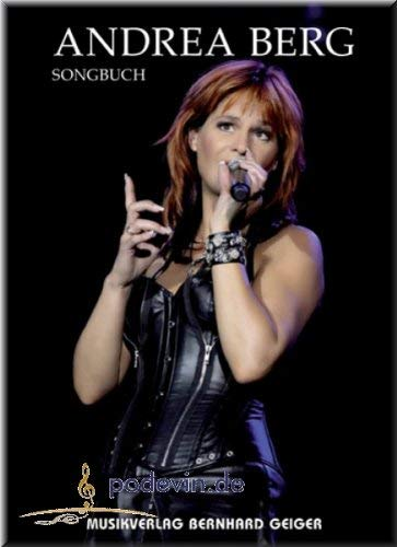 Songbuch Andrea Berg - Songbook Klavier, Gesang & Gitarre Noten [Musiknoten]