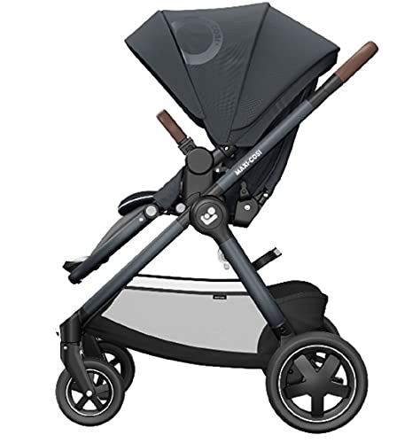 Maxi-Cosi Adorra² Pushchair, Baby Pushchair, Pushchair Travel System, From Birth Up to 4 Years, 0 - 22 kg, Essential Graphite