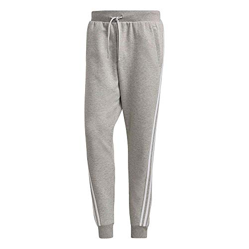 adidas M Fi Pant 3S, Pantaloni della Tuta Uomo, Media Grigio Melange, L