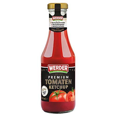 Werder Premium Tomatenketchup 450 ml - nostalgische DDR Kultprodukte