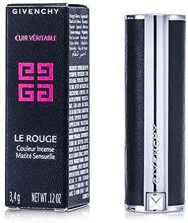 Givenchy Le Rouge Intense Color Sensuously Mat Lipstick # 315 Framboise Velours (Genuine Leather Case) 3.4G/0.12Oz