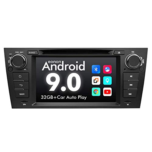 Car Stereo Android Radio Eonon 7 Inch Android 9.0 Car Radio Applicable to BMW 3 Series GPS Navigation for Car Support Carplay Android Auto/Bluetooth 5.0/WiFi/Fast Boot/DVR/Backup Camera/OBDII-GA9365