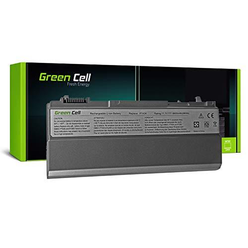 Green Cell® Extended Serie PT434 W1193 4M529 Laptop Akku für Dell Latitude E6400 E6410 E6500 E6510 (12 Zellen 8800mAh 11.1V Silber)