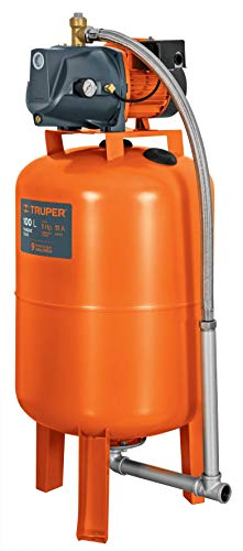 Truper HIDR-1X100, Bomba (Equipo hidroneumático) Uso residencial e industrial, 1 HP