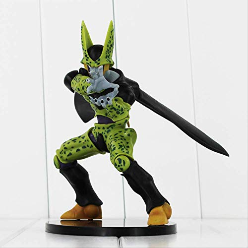 TOPCOMWW 17cm Hot Anime Dragon Ball Z Complete Body Cell Dramatic Showcase PVC Action Figure Model Toys Doll
