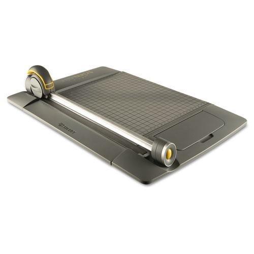 "ACME MADE 15101 TrimAir Titanium 45MM Rotary Paper Trimmer, Metal Base, 15"""