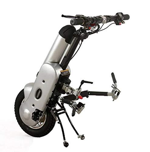 BTHDPP Zuggerät Elektrorollstuhl 12'' 36V 400W 12Ah Lithium-Ionen Akku Elektrischer Rollstuhl,Handcycle Wheelchair