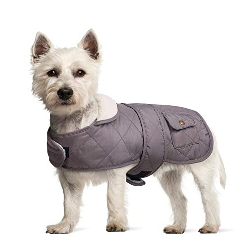 Pet Dog Cold Weather Coat, Warm Dog Winter Jacket,Windproof Waterproof Fleece Lined Dog Outdoor Apparel Vest,Adjustable Cozy Thick Dog Snowsuit Clothes for Small Medium Large Breeds Dogs Girl Boy