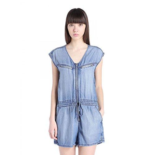 Diesel Damen Jeans Overall Jumpsuit DE-VENIA TUTA Blau (S)