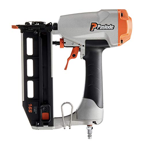 Paslode, Pneumatic Finish Nailer, 515500, 16 Gauge, Air Compressor...