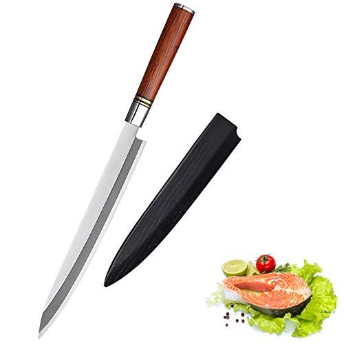 Sushi Sushi Cuchillo de cocina X5CR15MOV Acero inoxidable de alta calidad Clásico Japonés Gyuto Fishing Cuchillo Cuchillo de cocina cuchillos (Color : 270mm)