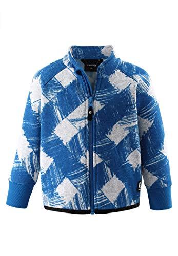 Reima Ornament Fleece Sweater Kleinkind Marine Blue Kindergröße 110 2020 Jacke