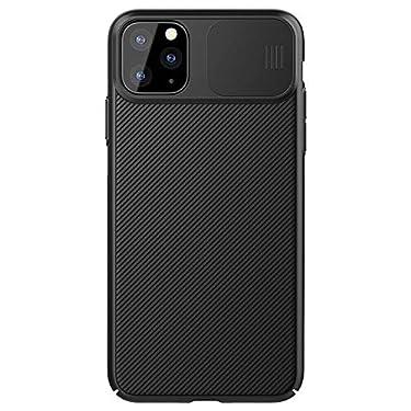 "Nillkin Case for Apple iPhone 11 Pro Max (6.5"" Inch) CamShield Camera Close & Open Case Protect Black Color PC Finish"