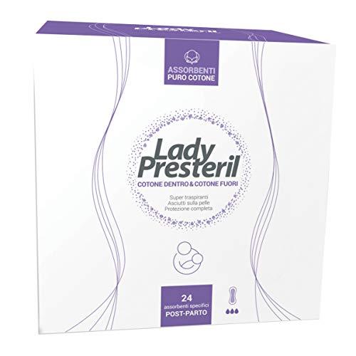 Presteril Lady Postparto, 24 Pezzi - 10 ml