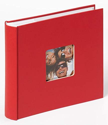 Walther Design, Álbum foto, color rojo, 200 fotos, 10 x 15 cm