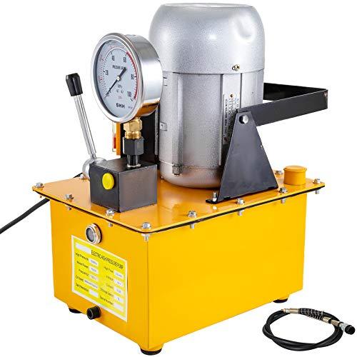 baratos y buenos VEVOR electrobomba hidráulica 10,000PSI válvula manual de acción simple … calidad