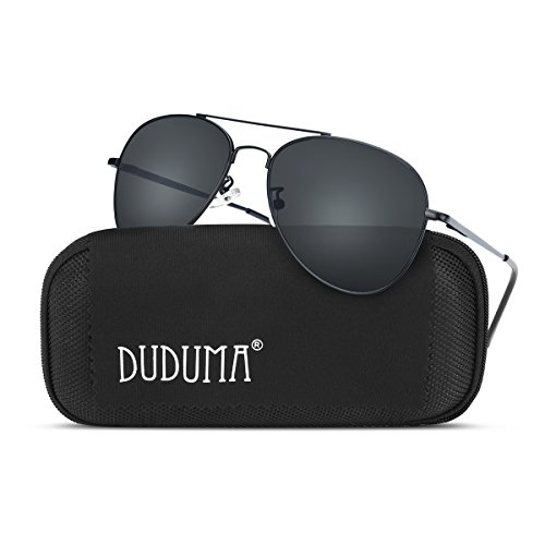 Duduma Premium Classic Sunglasses with Metal Frame Uv400 Protection