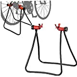 1 Pcs Vélos Stand Hauteur Réglable Stockage Porte-vélos Affichage Roue De Vélo Hub Floor Stand Support De Rangement Vélo Réparation Stand Black Coup De Pied