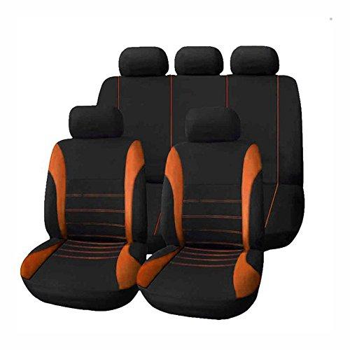 KKmoon 9 stücke Universal Auto Sitzbezug Tuch Kunst Auto Innendekoration Schützen Abdeckungen für Vier Jahreszeiten