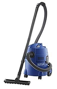 NILFISK Aspirador de Bricolaje Buddy II 12, con o sin Bolsa, 1200 W, 12 litros, 74 Decibelios, Azul