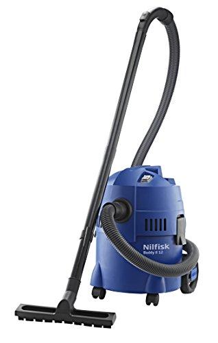 Nilfisk Multi II 12 EU Nass-/Trockensauger, für die Reinigung im Innen- & Außenbereich, 12 Liter Fassungsvermögen, 1200 W Eingangsleistung (blau)