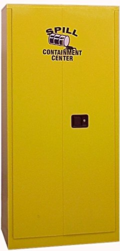 SECURALL SCC272 Super sale Spill Containment Cabinets - Sh All stores are sold Full 4 Size Adj