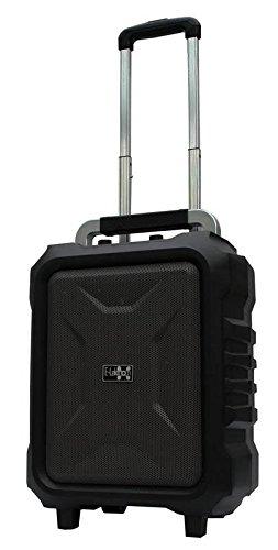 E-Lektron EL20-MB mobile PA-Anlage USB/micro-SD Bluetooth Soundanlage Musikkoffer mit Akku