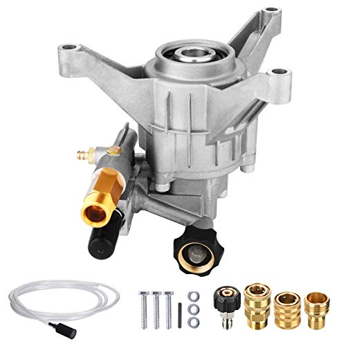 Tool Daily Pressure Washer Pump Replacement, Vertical Pump for Cold Water Gas Power Washer, 2400-2800 PSI, 2.3 GPM