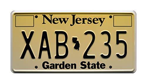 John Wick | XAB 235 | Metal Stamped License Plate