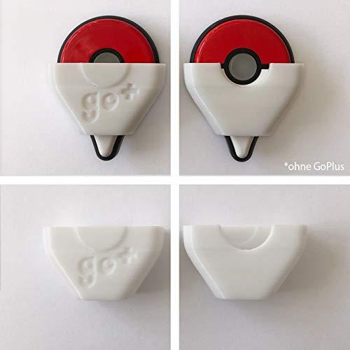 Pokemon Go Plus - Zubehör - Aufsteckkappe für Autocatch & Autospin ohne Umbau (Weiß)