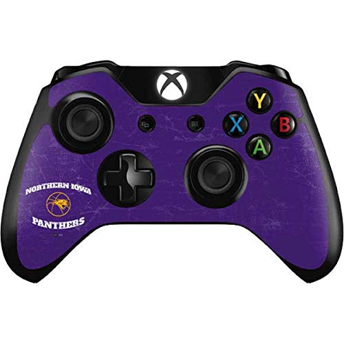 Skinit Decal Gaming Skin Compatible with Xbox One Controller - Officially Licensed College UNI Panthers Design