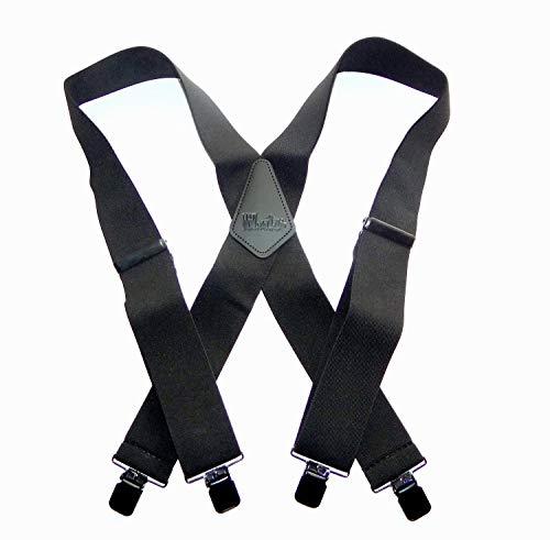 Shadow Strapshalter, robust, 5,1 cm breit, mit rutschfesten Clips, Schwarz -  Schwarz -  XL/XXL