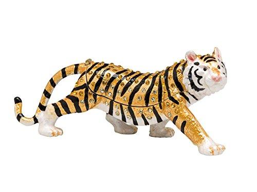 aubaho Tiger Fortino Scrigno Vaso Pillola Scatola della Pillola Scatola Figura
