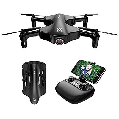 Potensic Foldable Drone Quadcopter with HD 720P Camera WiFi FPV 2.4Ghz Remote Control Drone Optical Stream Altitude Hold Headless Mode Function from Potensic