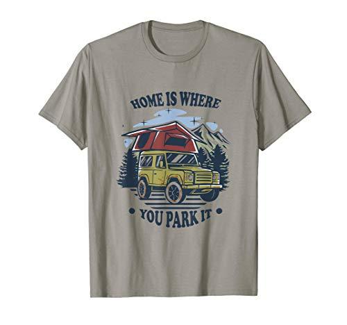 Dachzelt | Offroad | Camper | Road-Trip T-Shirt