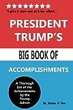 President Trump's Big Book of Accomplishments
