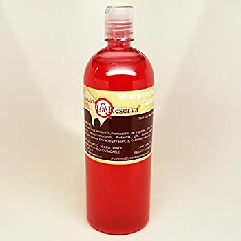 Yeguada La Reserva Shampoo de Caballo Rojo  1 liter Bottle  For Strong Healthy And Beautiful Hair  For Light Colored Hair
