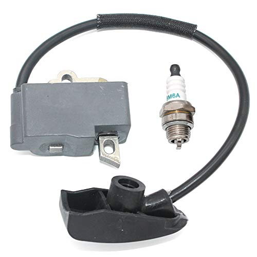16HP Horizontal /& Vertical Twin L-Head Cylinder Engine Replacement Auto Parts 398811 395492 398265 Benkeg Ignition Coil,Ignition Coil Module Spark Plug Kit for Briggs /& Stratton 7HP