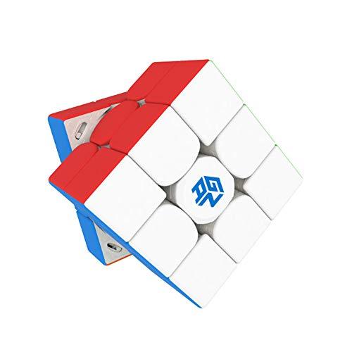 LEDM GAN 11 M Pro 3x3 Stickerless Cube Magic Puzzle Rompecabezas Juguetes para Adultos,UV Coated stickerless