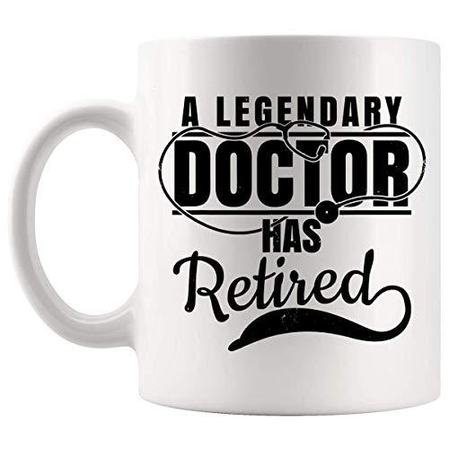 N\A Jubilados Jubilados - Jubilado Doctor Jubilación Regalo Retirando Medical 11Oz Cup Mug - Jubilación Clásico Único Jubilación Ideas Ideas