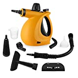 Pressure Steam Cleaner, Car Cleaning Portable Handheld Steamer Cleaner with 9-Piece Accessories...